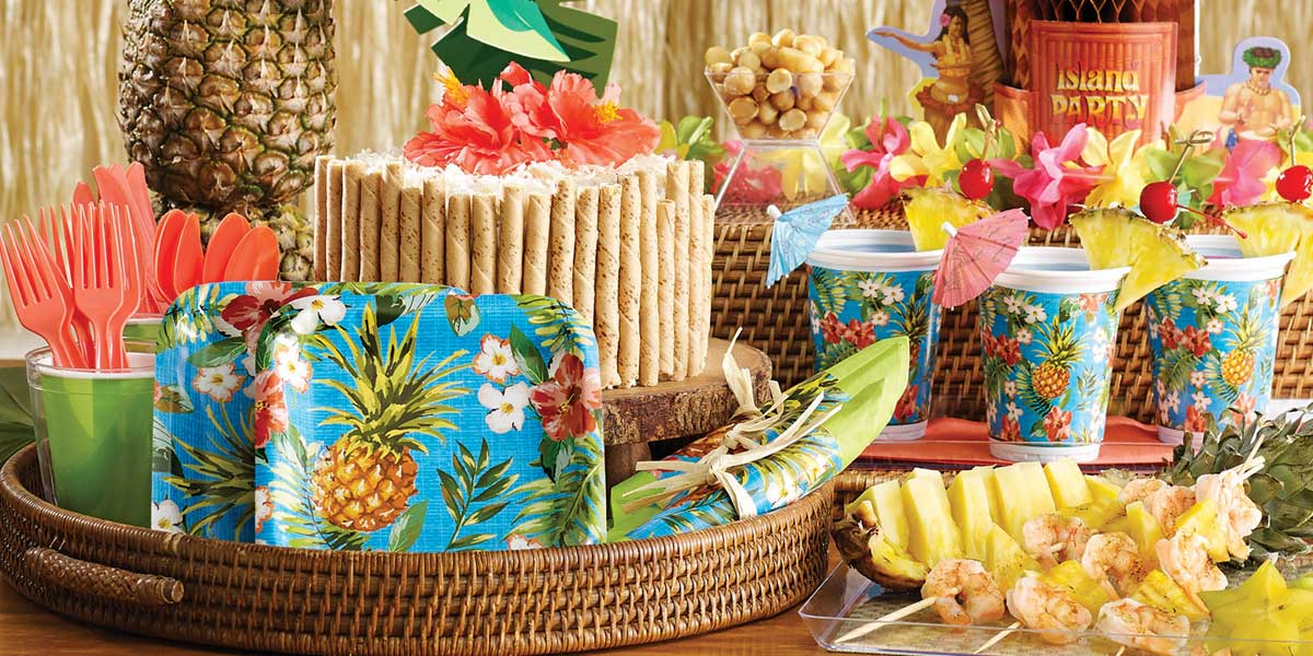 Amazoncom: adult luau party decorations