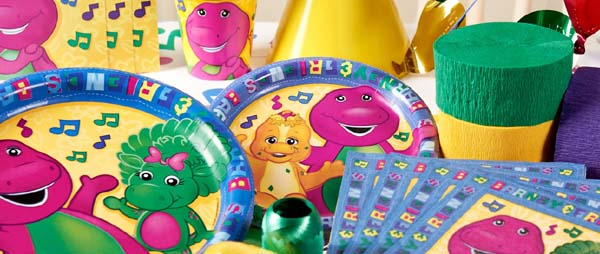 Barney Party Supplies For Kids Birthday Party Themes at MTRADE