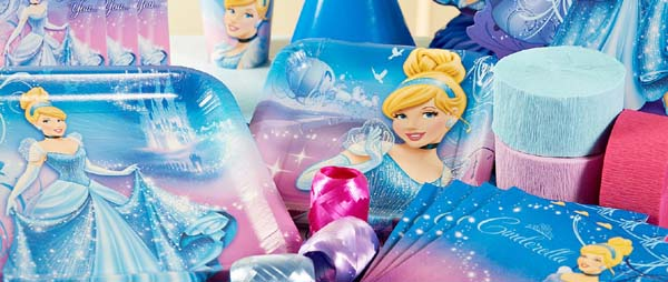 Cinderella Party Supplies