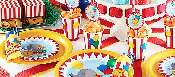 Circus Time Party Theme