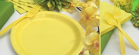 Light Yellow Tableware