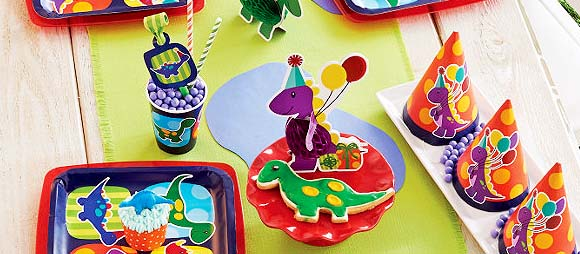 Little Dino Party Supplies