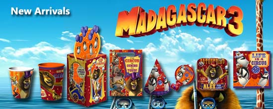 Madagascar 3 Party Supplies