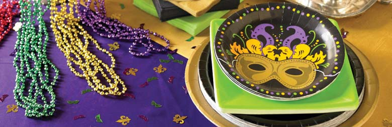 Mardi Gras Party Supplies