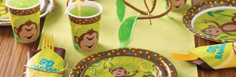 Monkey Around Party Supplies