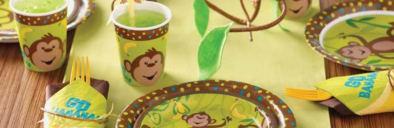 Monkey Around Party Supplies