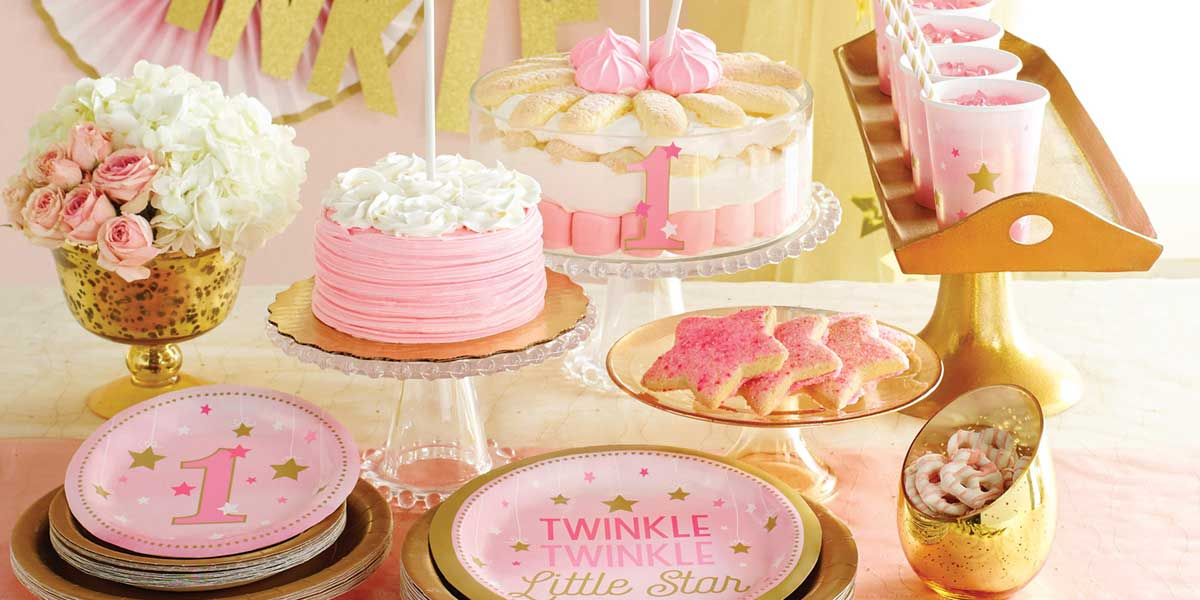 One Little Star Girl Party Supplies Singapore