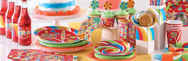 Sugar Buzz Party Supplies