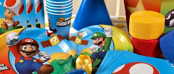 Super Mario Bros Party Supplies