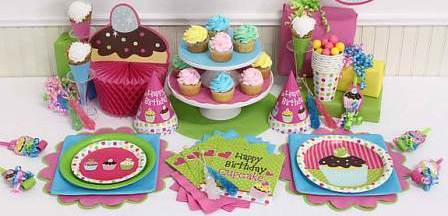 Sweet Cupcake Party Supplies