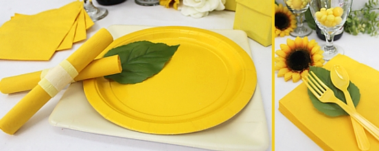 Yellow Tableware