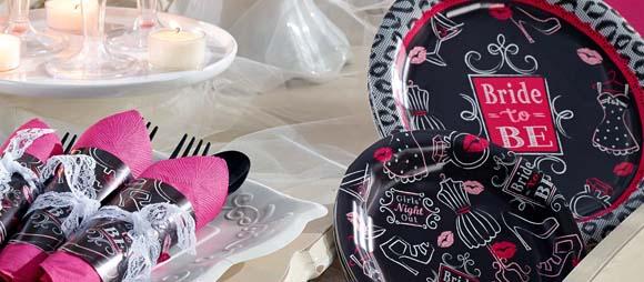 Bridal Bash Party Supplies