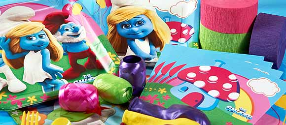 The Smurfs 2 Party Supplies