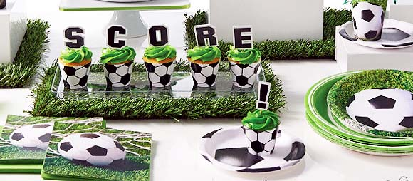 SportsFanatic Soccer Party Supplies